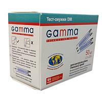 Тест-смужки Gamma DM (Гамма ДМ), 50 шт.