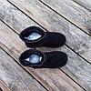 ТІЛЬКИ 36, 37 розміри  Уггі жіночі натуральна замша UGG GUCCI чорні зимові уггі жіночі натуральна замша, фото 5