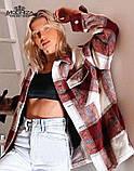 """Рубашка женская оверсайз в клетку """"Elba"""", фото 8"""