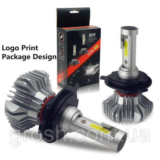 Светодиодные автомобильные лампы S9 H4