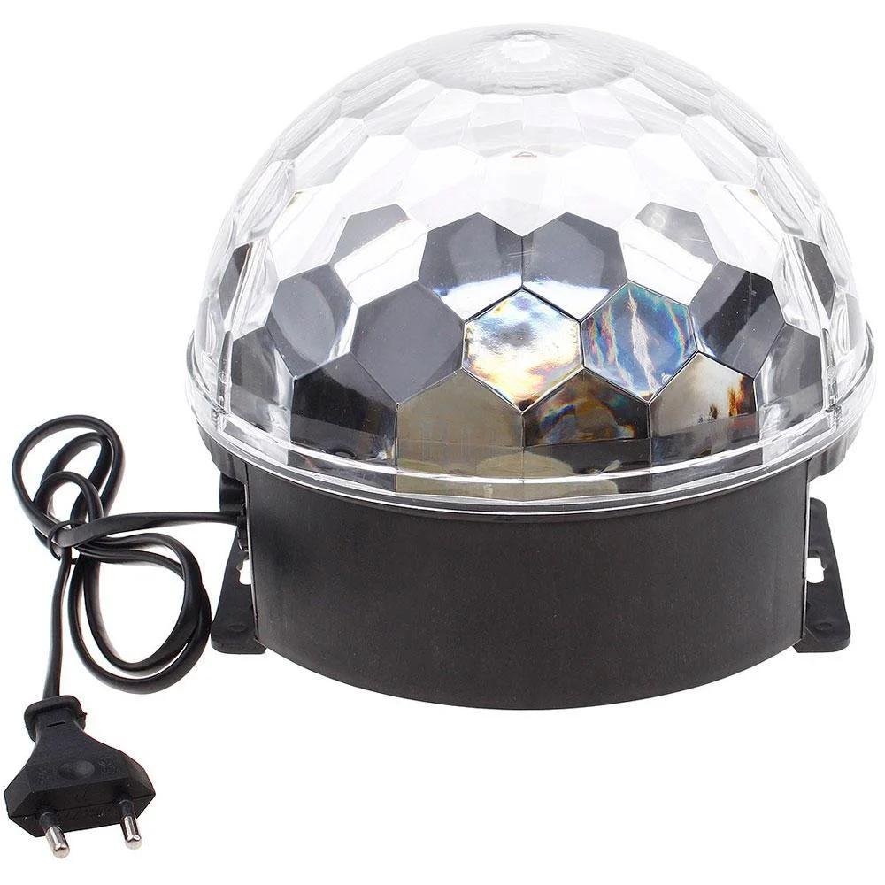 Музыкальный диско шар, светящийся шар с музыкой