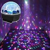 Музыкальный диско шар, светящийся шар с музыкой, фото 5