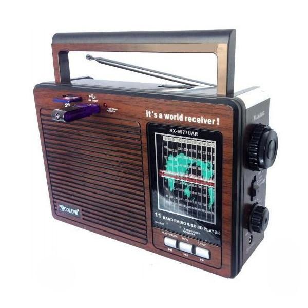 Портативная аккустическая система GOLON RX-9977UAR, радиоприемник