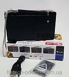 Портативна колонка з акумулятором Golon RX-8866, радіоприймач, фото 3