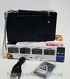 Портативная колонка с аккумулятором Golon RX-8866, радиоприемник, фото 3