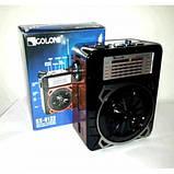 Радіоприймач з ліхтарем RX 9122 Golon, фото 2