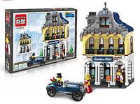 Конструктор Brick Дом гостиница 1127, 628 элементов