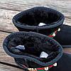 ТОЛЬКО 36, 37 размеры Угги женские натуральная замша UGG GUCCI черные зимние уггі жіночі натуральна замша, фото 3