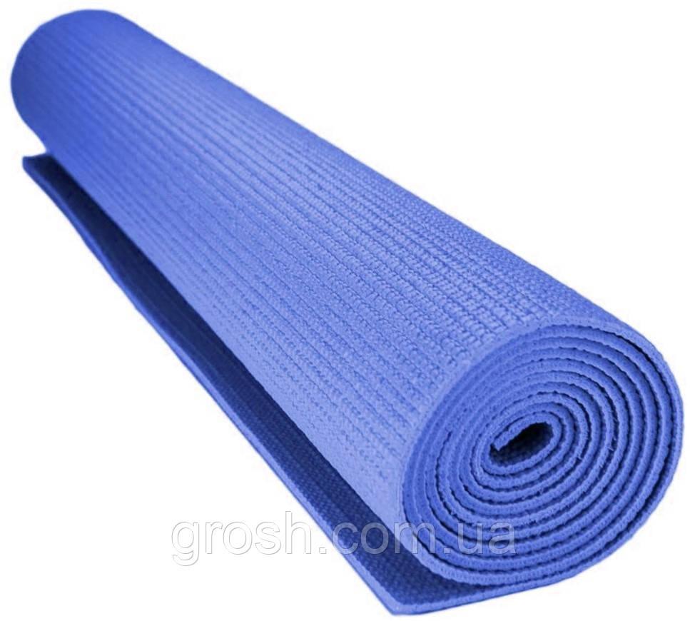 Коврик для йоги Power System Fitness Yoga СИНИЙ