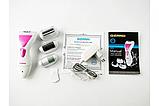 Женский эпилятор 4в1 Gemei, насадки: пемза, эпилятор, пилочка для маникюра, бритва, фото 6