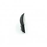 Електронні годинники з дзеркальним дисплеєм, будильник, температура, від батарейок і USB, фото 5