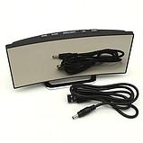 Електронні годинники з дзеркальним дисплеєм, будильник, температура, від батарейок і USB, фото 8