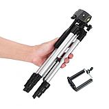 Штатив для камеры и телефона трипод с чехлом, тренога для смартфона, высота 103см, фото 6