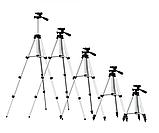 Штатив для камеры и телефона трипод с чехлом, тренога для смартфона, высота 103см, фото 7