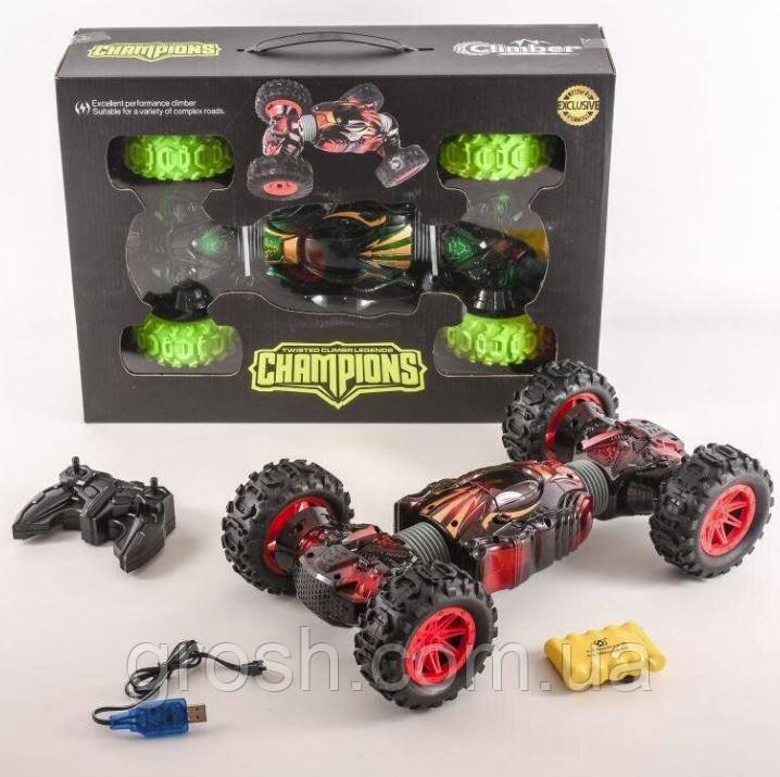 Машинка перевертень на радіокеруванні Hyper Champions Climber 2566
