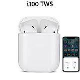 Беспроводные  наушники TWS i100, сенсорные, фото 5