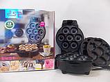 Апарат для випічки пончиків і бісквітів DS 2 в 1, фото 2