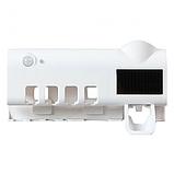 Автоматический диспенсер для зубной пасты и щеток  Toothbrush sterilizer W-020, фото 3