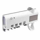 Автоматический диспенсер для зубной пасты и щеток  Toothbrush sterilizer W-020, фото 5