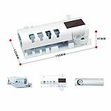 Автоматический диспенсер для зубной пасты и щеток  Toothbrush sterilizer W-020, фото 10