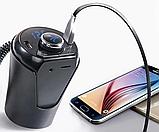 Автомобільний модулятор H26 BT, Bluetooth адаптер, фото 4