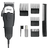 Машинка для стрижки волос DSP, четыре насадки, фото 2