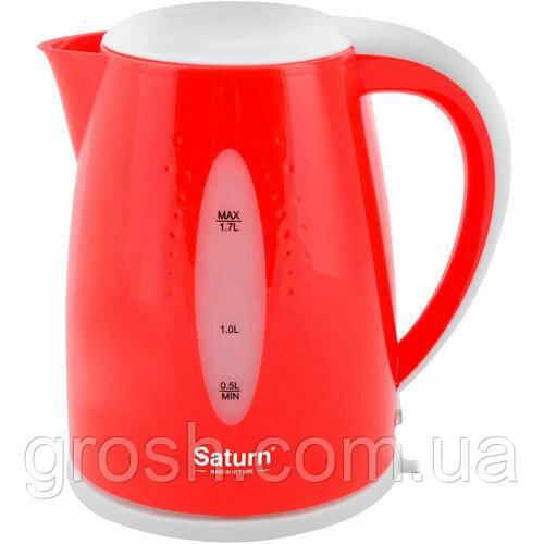 Електрочайник SATURN ST-EK8438 Red