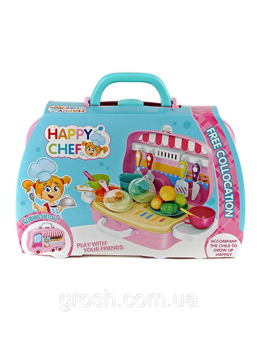 Дитяча ігрова валіза Happy Chef