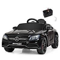Дитячий електромобіль Bambi M 4010 EBLR-2 Mercedes, чорний