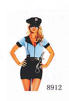 """Эротический ролевой (карнавальный) костюм """"Полицейская"""" Оks-8912"""