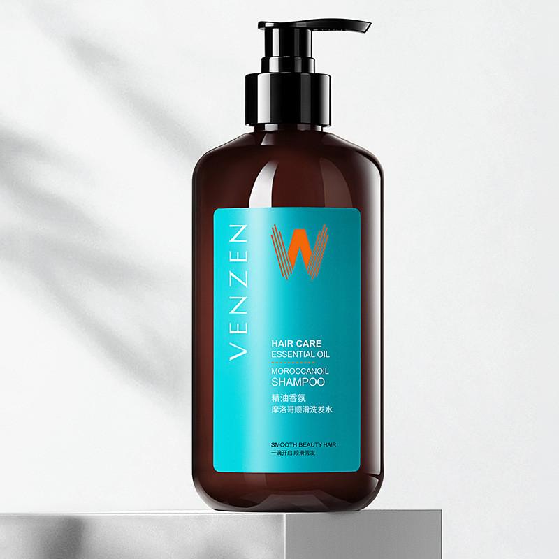 Шампунь для волосся розгладжує з марокканським маслом аргана VENZEN Hair Care Essential Oil MaroccanOil Hair