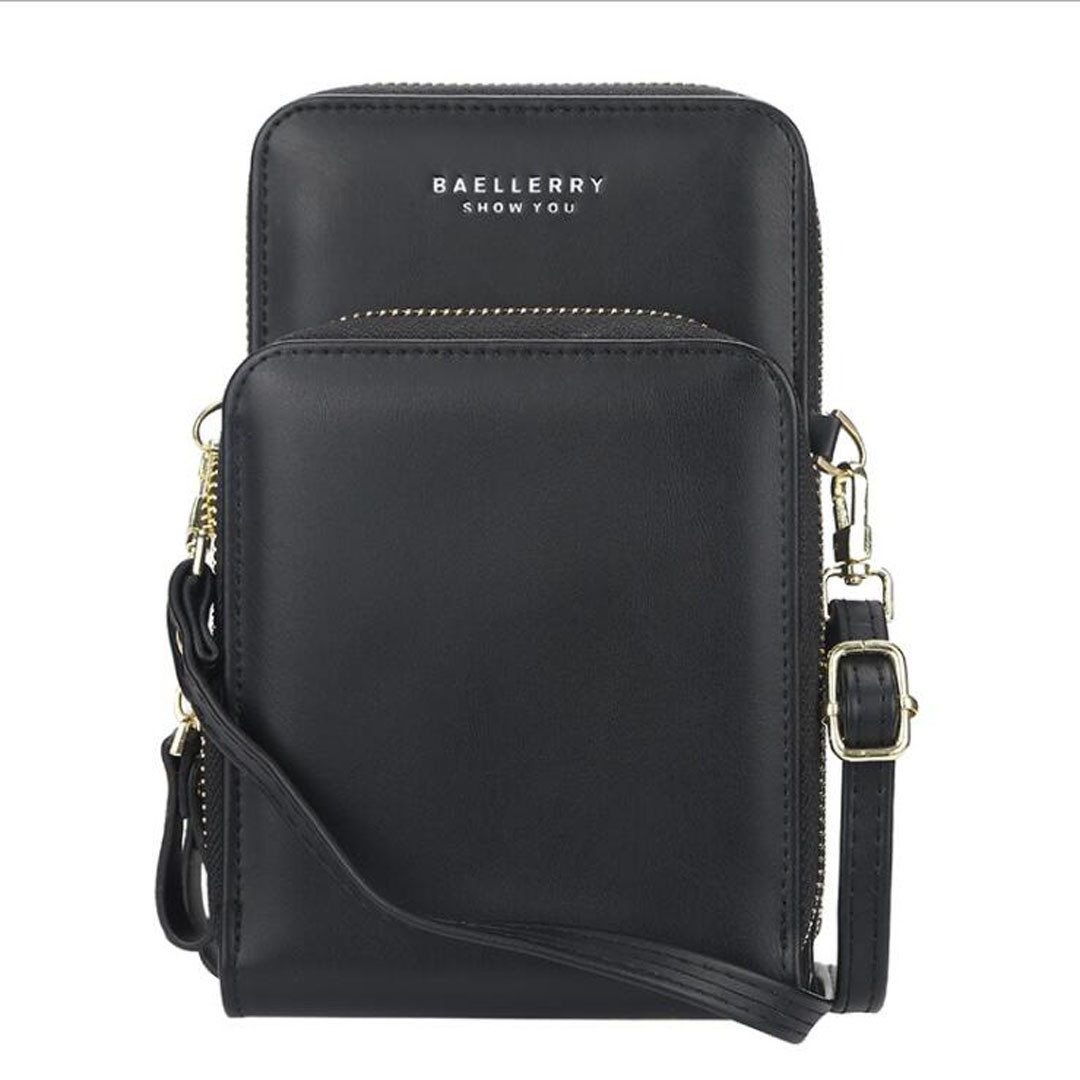 Жіночий гаманець-клатч, сумочка Baellerry Show You. Чорний