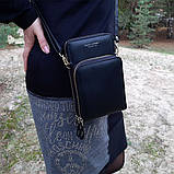 Жіночий гаманець-клатч, сумочка Baellerry Show You. Чорний, фото 2