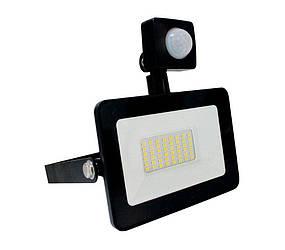 Прожектор с датчиком движения Ecolux Led EXS20 20 Вт 6500 К 1600 Лм, КОД: 1235452