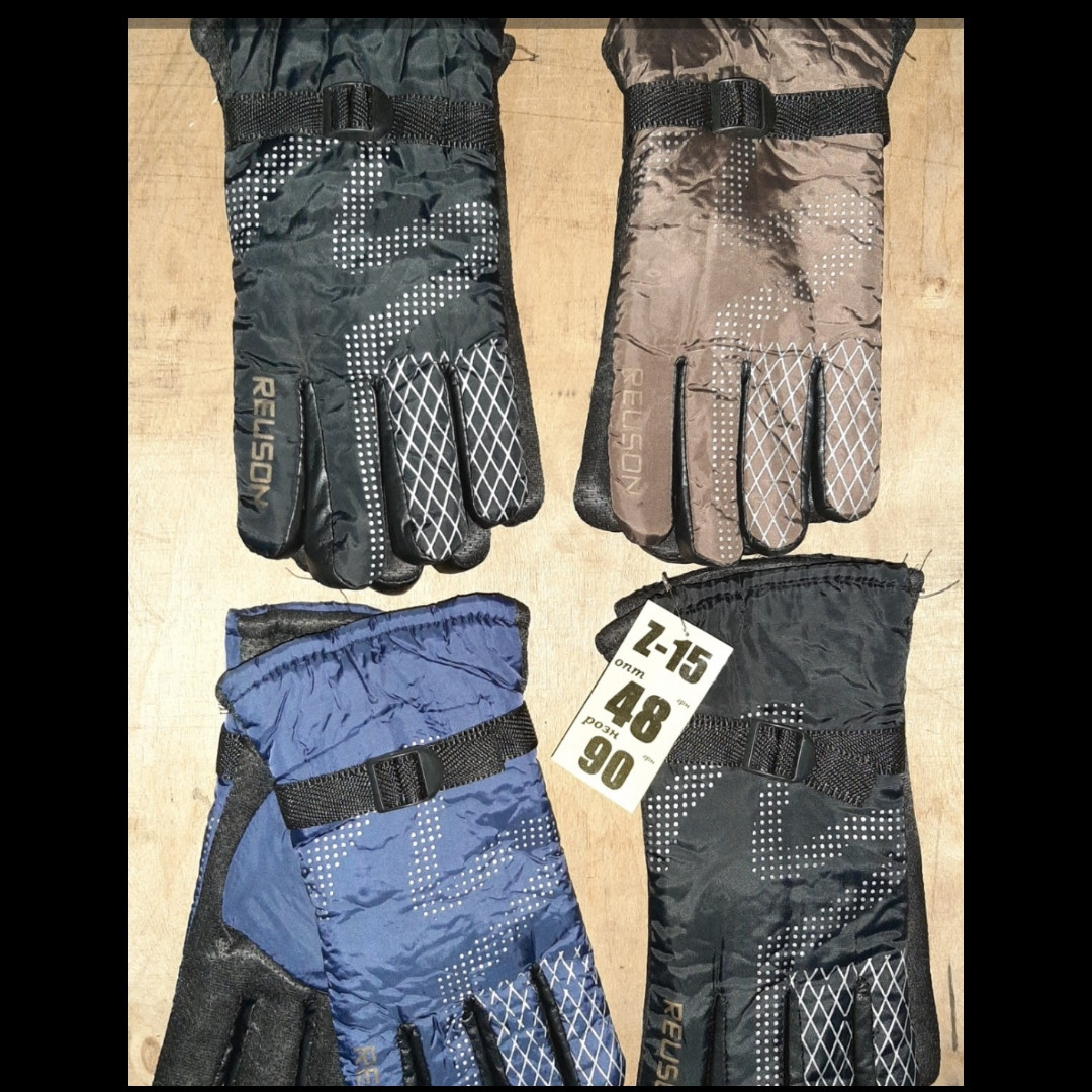 Чоловічі рукавички шкіра осінь