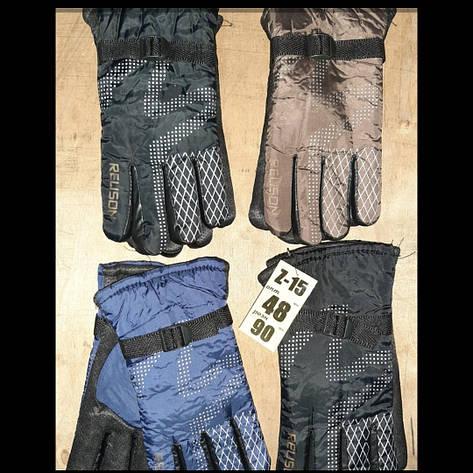 Чоловічі рукавички шкіра осінь, фото 2