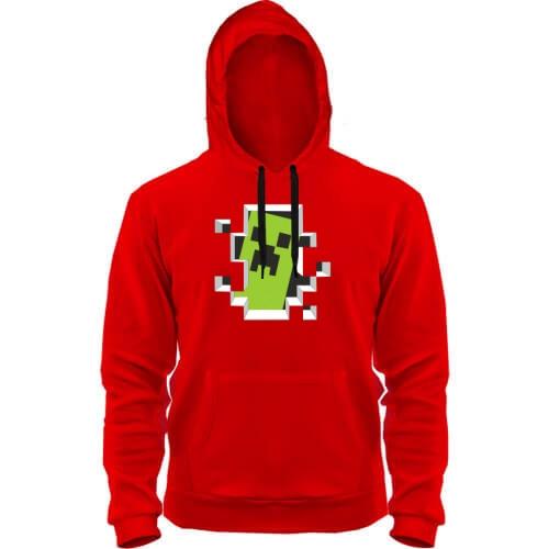 Толстовка Crash Minecraft