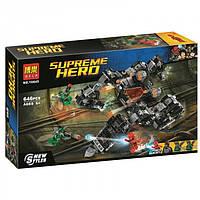 Конструктор BELA 10845 SUPER HEROES -  Сражение в туннеле (646 дет.)