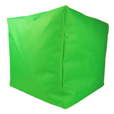 Пуф куб, 40*40*40 см, (оксфорд), (салатовый)