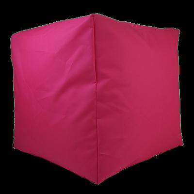 Пуф куб, 40*40*40 см, (оксфорд), (розовый)