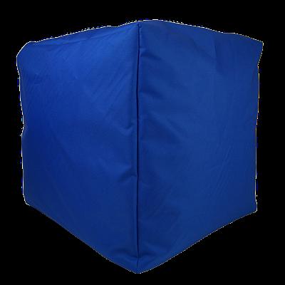 Пуф куб, 40*40*40 см, (оксфорд), (васильковый)