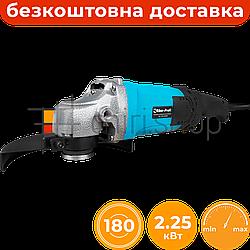 Болгарка с регулировкой оборотов Riber-Profi WS 180LW, УШМ 180 мм, средняя болгарка с регулятором оборотов
