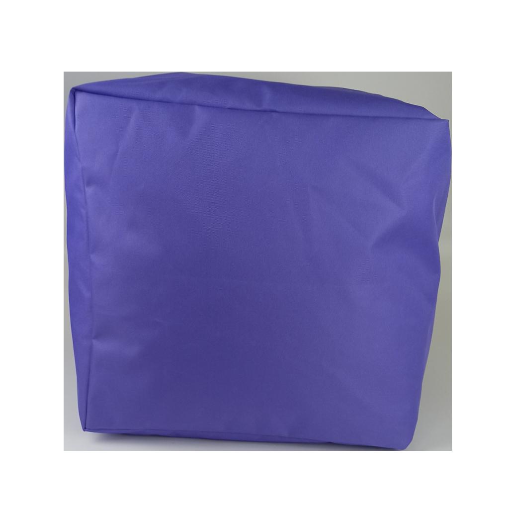 Пуф куб, 40*40*40 см, (оксфорд), (бузковий)