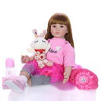 Кукла реборн мягконабивная 60 см