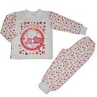 Пижама детская для девочки теплая