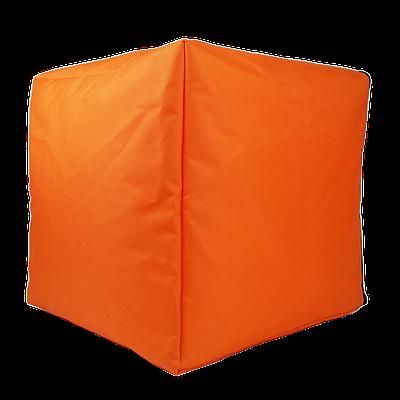 Пуф куб, 40*40*40 см, (оксфорд), (оранжевый)