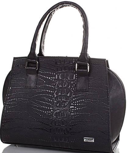 Практичная женская сумка из качественного кожезаменителя ETERNO (ЭТЕРНО) ETMS35169-2 (черный)