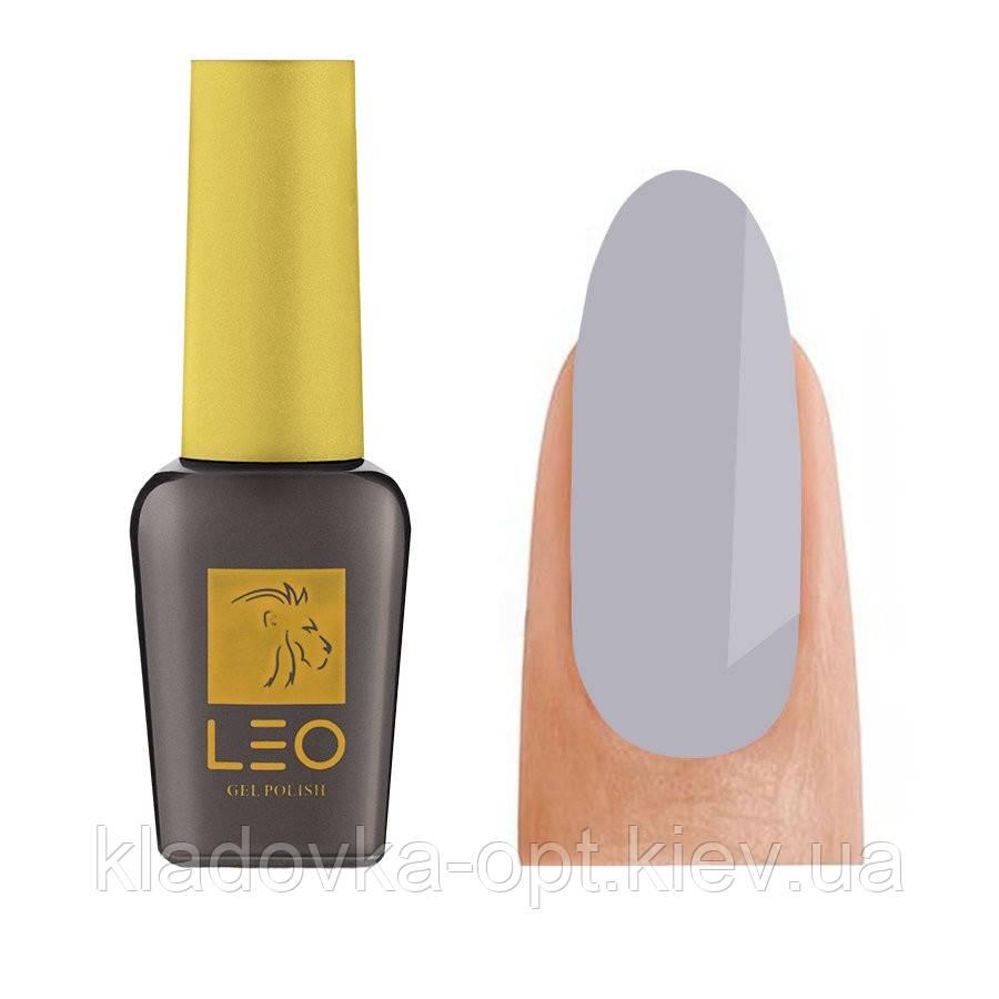 Гель-лак LEO Seasons S238 (светлый серый), 9 мл