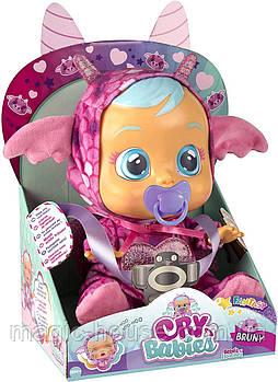 Интерактивная кукла Cry Babies Плакса Дракончик Bruny The Dragon
