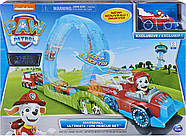 Щенячий Патруль Paw Patrol True Metal Ultimate Fire Rescue Track Set with Exclusive Marshall Die ОРИГІНАЛ, фото 2